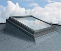 Конструкция EFW для установки окна в крышу с малым углом наклона ската