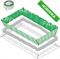 Теплоизоляционный комплект LXD для чердачных лестниц - фото 22472