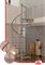 Винтовая лестница MINKA Venezia Eiche (из дуба)