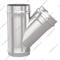 Тройник дымохода / воздуховода 135°